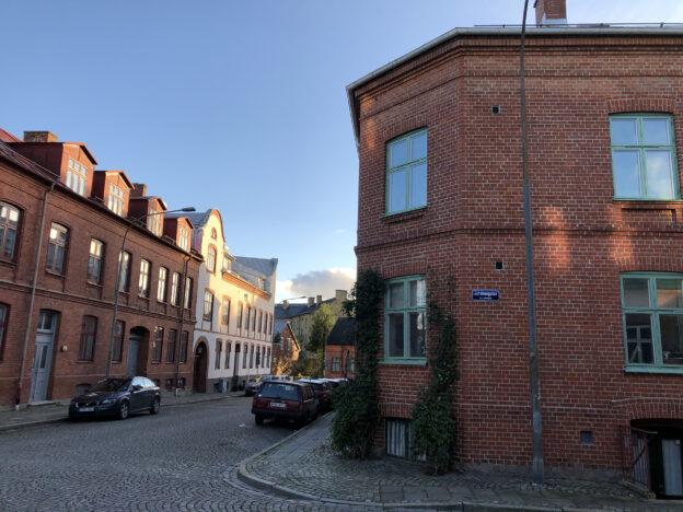 Foto på hus i Lund